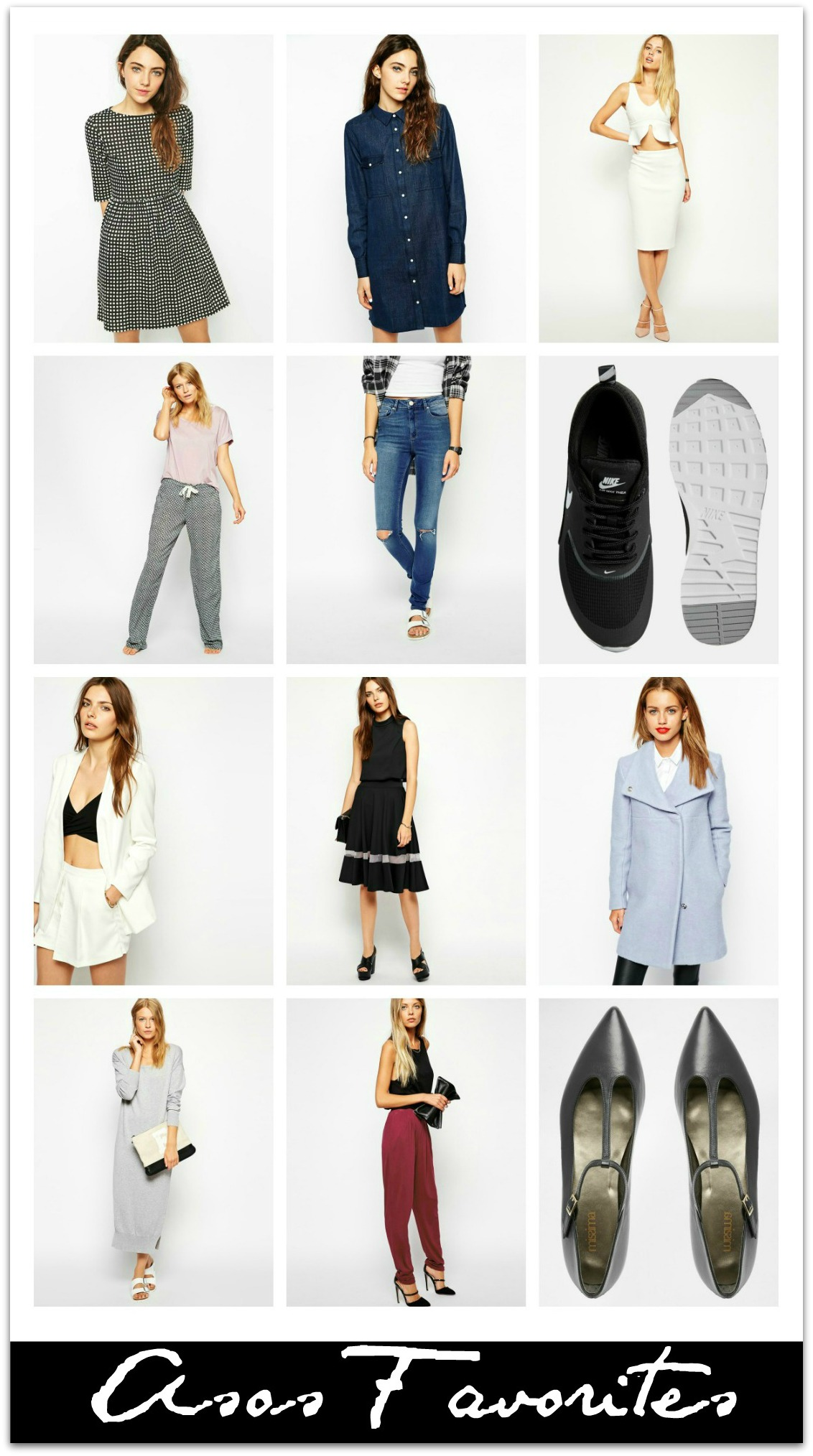 asos favorites