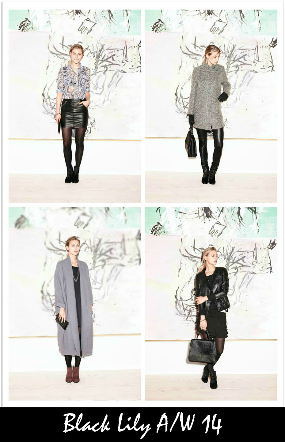 black lilly aw14