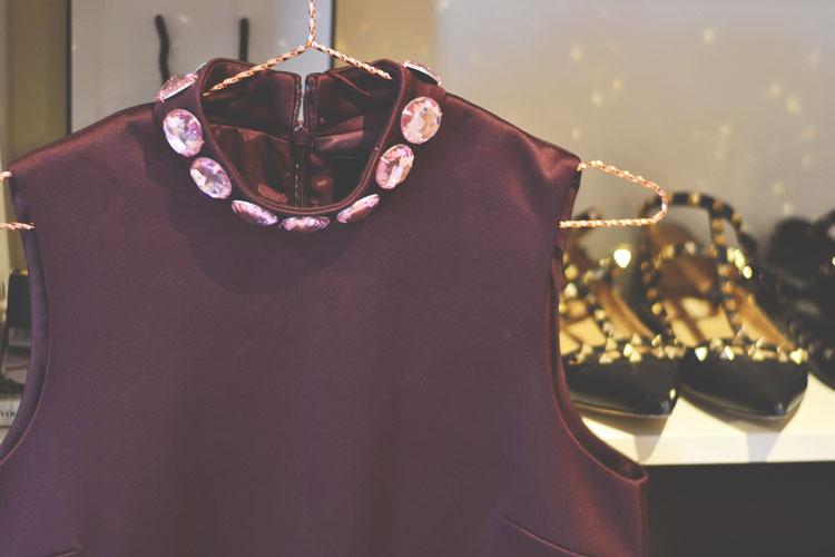 Asos Black scupa dress