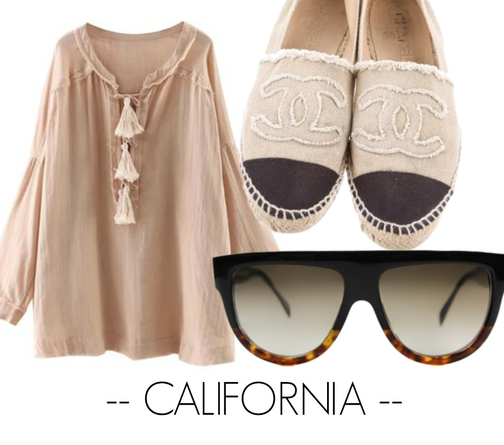 CALIFORNIA OUTFIT