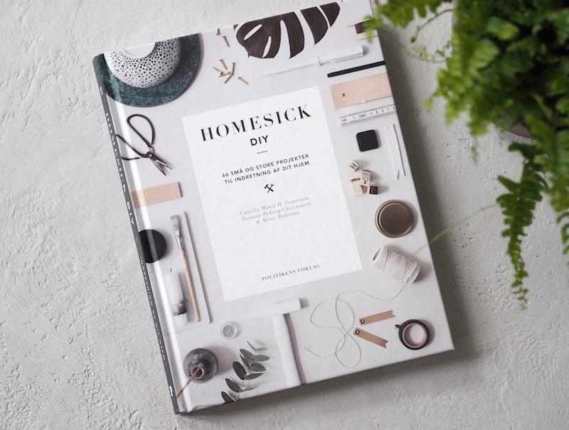 HOMESICK DIY - 66 store og små projekter til indretning af dit hjem