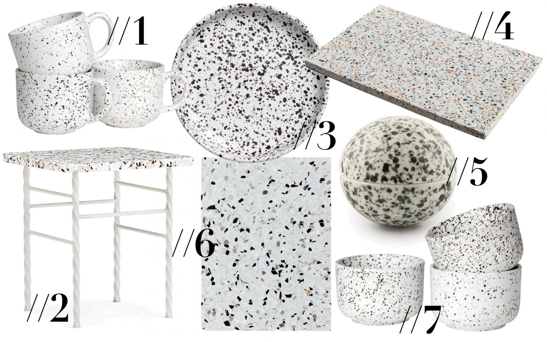 Keramik - Terrazzo