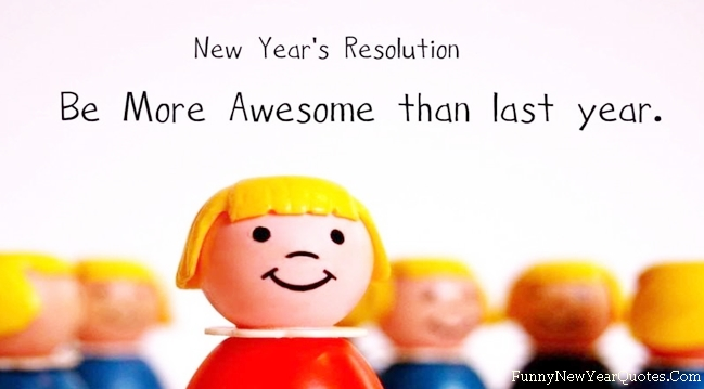TrueFunny.com - New Year funny resolution 2014 wallpaper funny pics