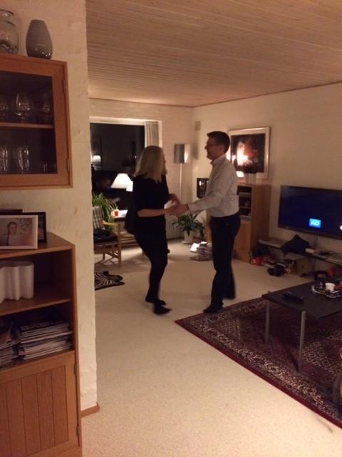 FAr og mor danser