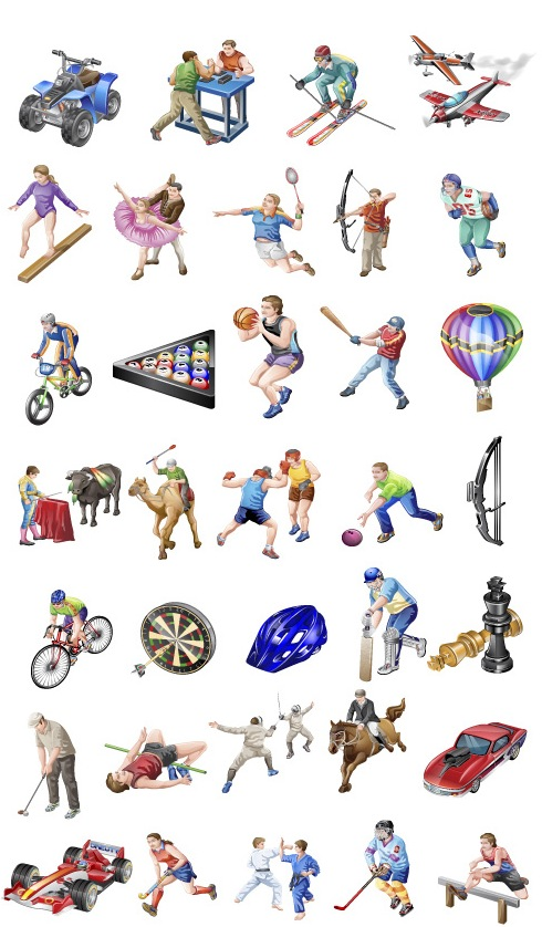 sport-vista-icons-vector