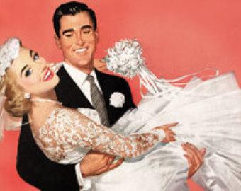 vintage-bride-and-groom-illustration-modern-design-7-on-cake-wedding-ideas
