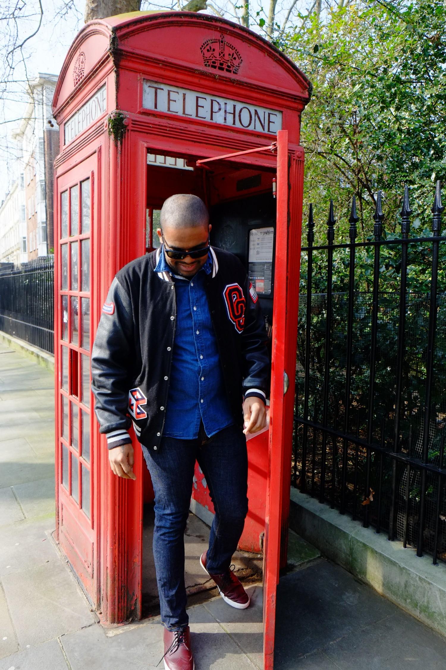 Bucket list London phone box