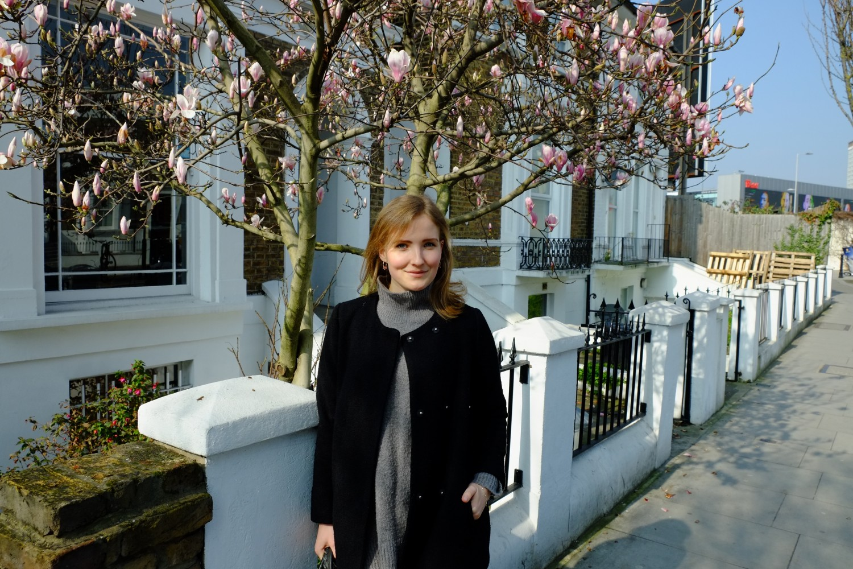Posing in Kensington