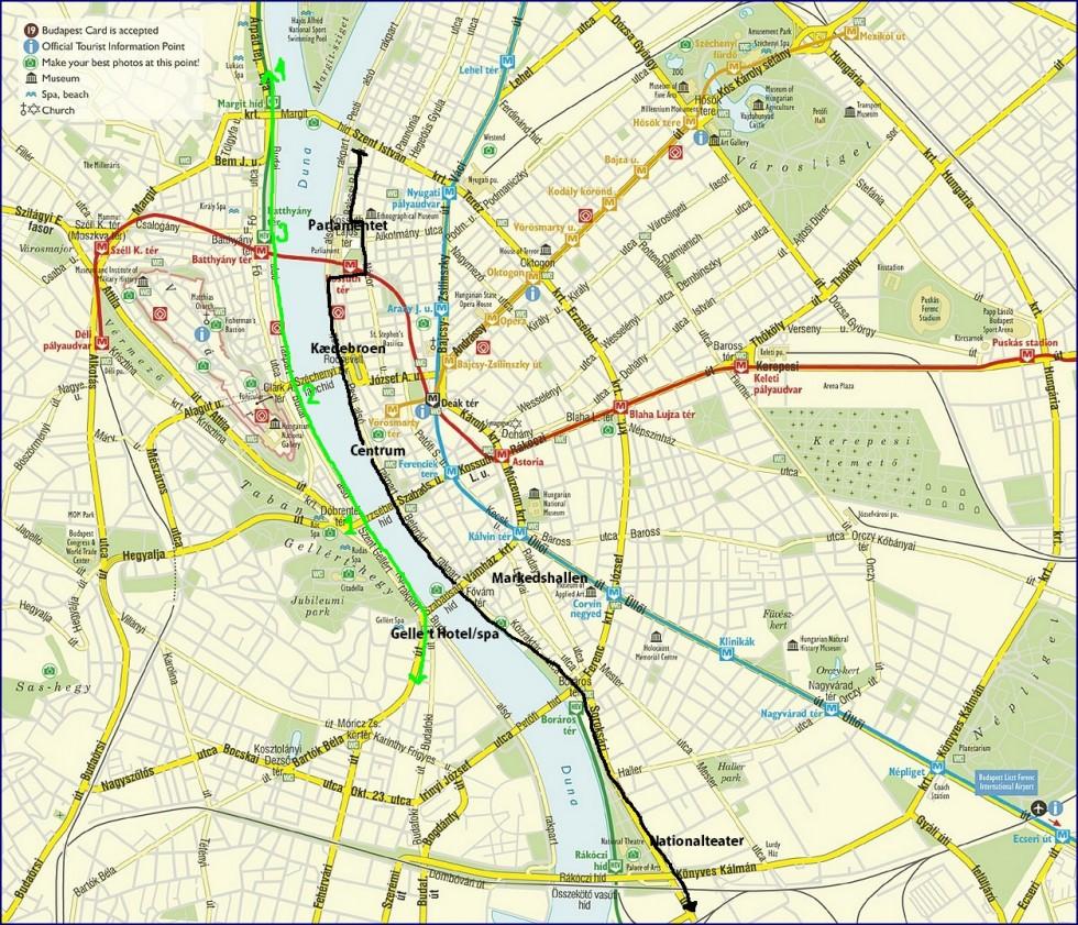 Budapest Sightseeing Tur Tag Sporvognen Ingen Kategori