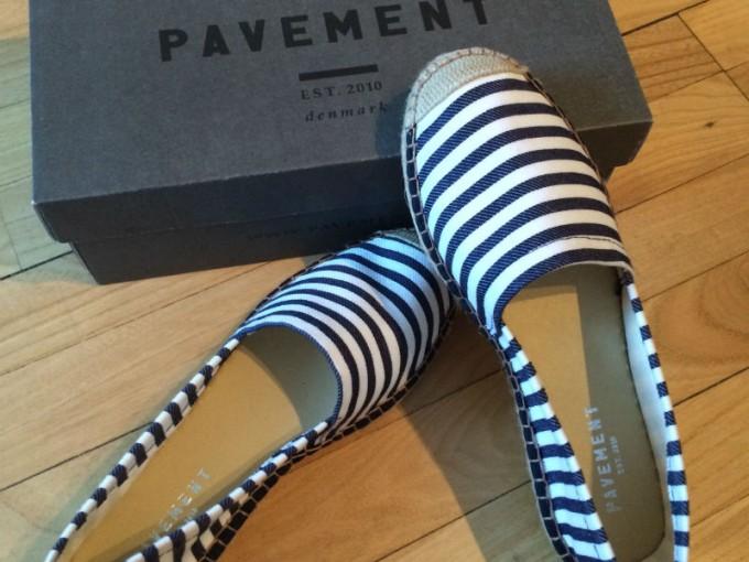 Pavement sko