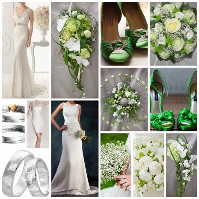 grønt bryllup