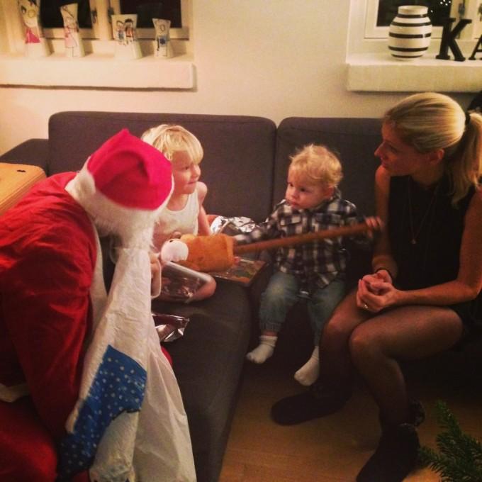 Juleaften i en sygdomsramt familie...