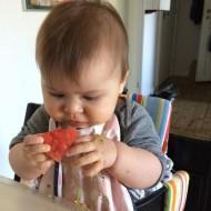 Kaya spiser vandmelon