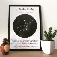 stjernetegnsplakat