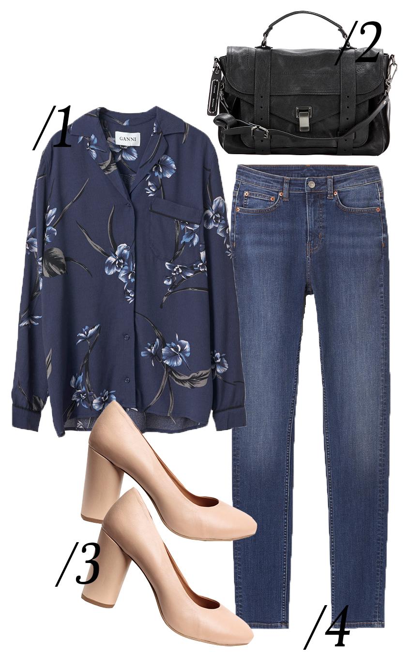 ganni-floral-shirt