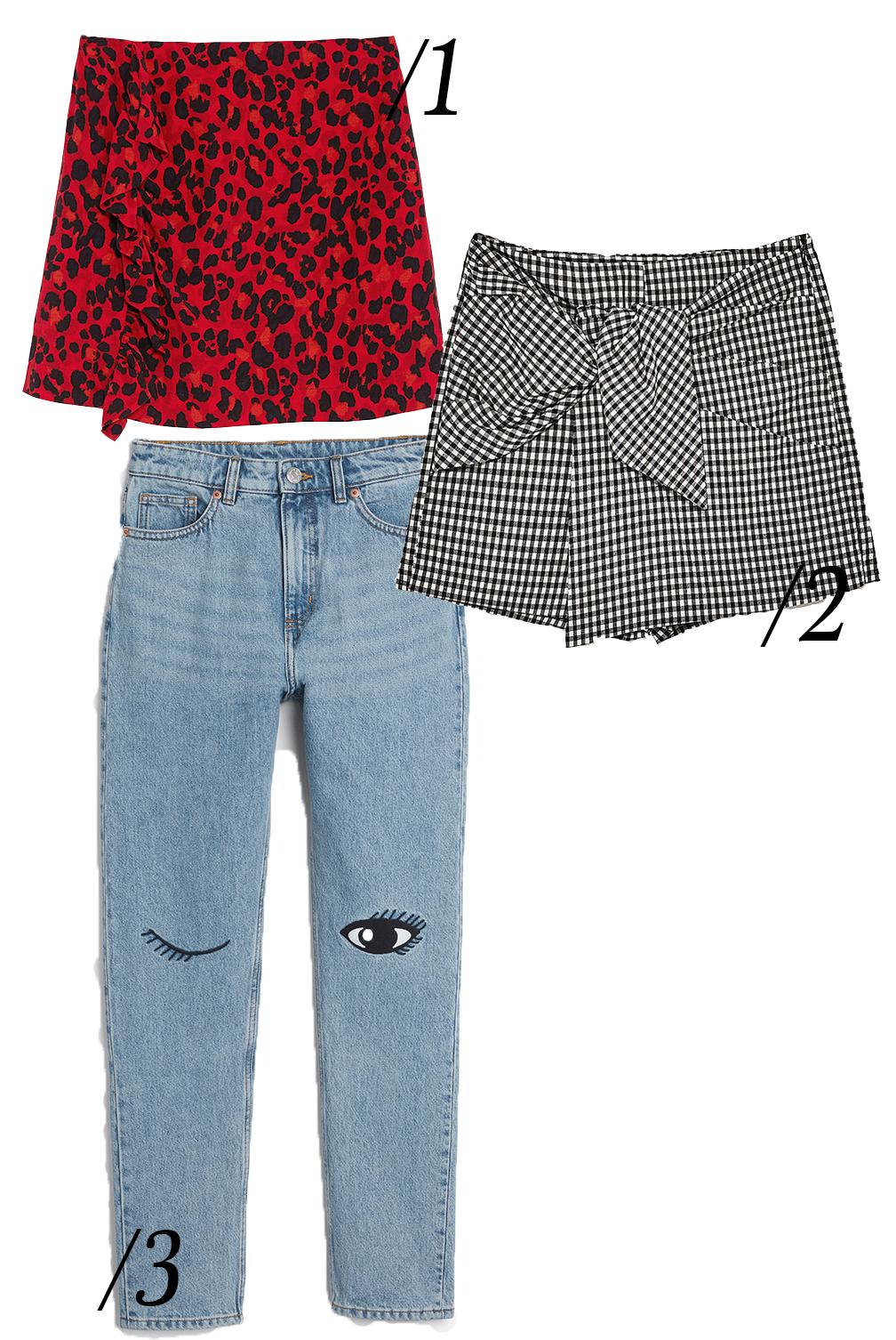 zara-check-skirt