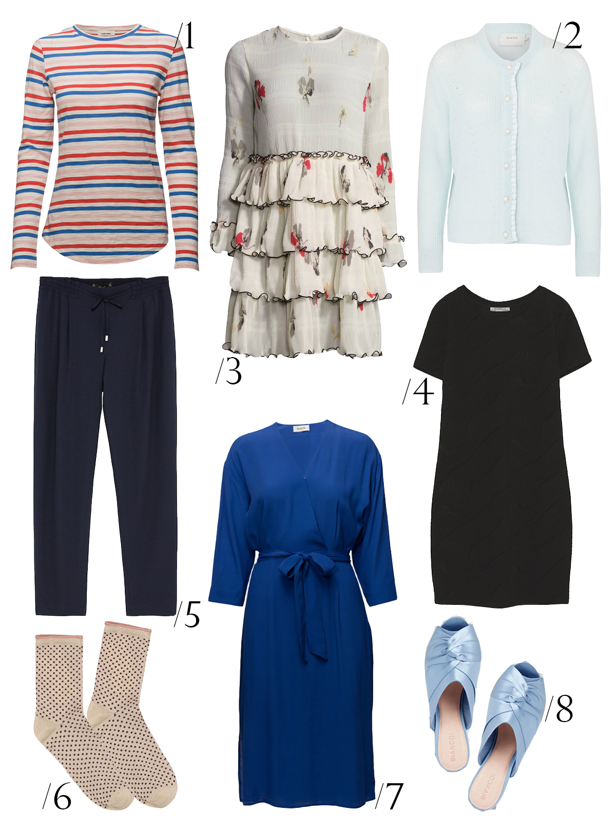 marts-garderoberegnskab