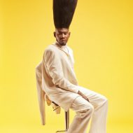 Benny Harlem - Tallest High Top Fade Guinness World Records 2016 Photo Credit: Ryan Schude/Guinness World Records