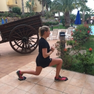 lunges sliders