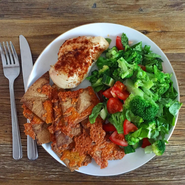 Lækker, sund frokost eller aftensmad! | Kost | Lines Livsstil