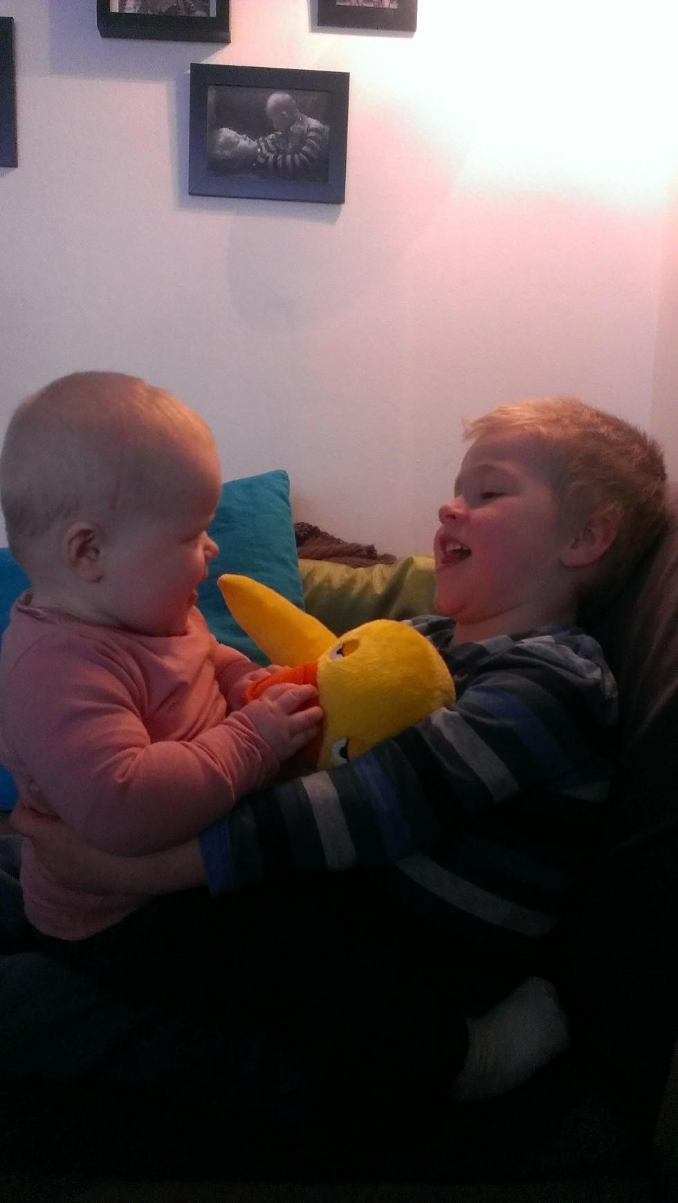 Glade unger:-)