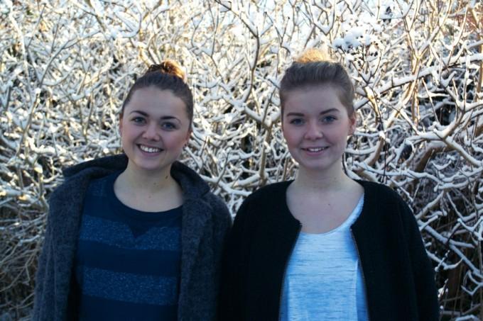 Anna (venstre) & Christine (højre)