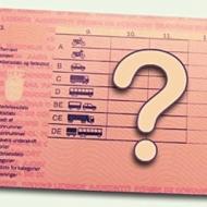 kørekort billede