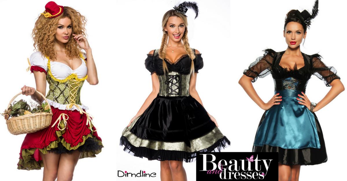 Smukke Oktoberfest kjoler og Tyroler kjoler i helt unikke stilarter og i høj kvalitet   Køb Tyroler kjoler online hos BeautyAndDresses.dk.