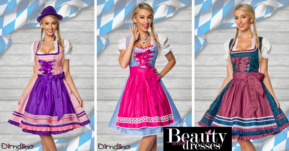 Smarte og anderledes Tyroler og Oktoberfest kjoler til din tema fest   Online i shoppen nu og kjolerne er i højeste kvalitet og helt unikt design.
