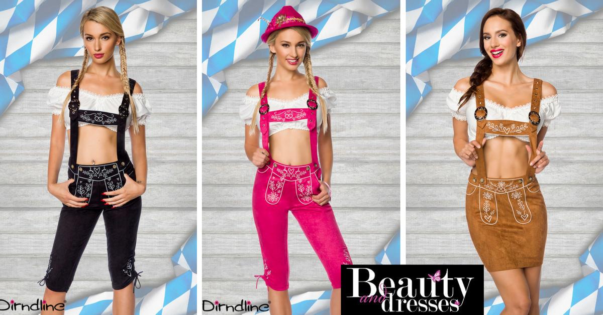 Smarte tyroler bukser til kvinder i flotte design og med smukt broderi   Køb dit Tyrolertøj til kvinder online HER