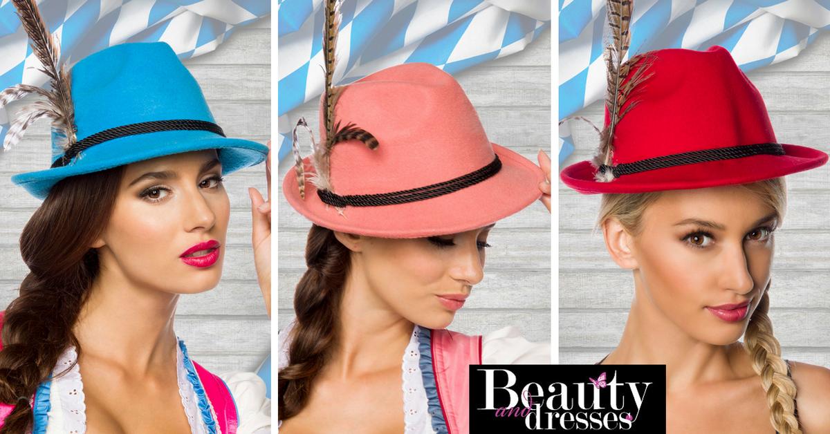 Smart tilbehør til din Tyroler fest til kvinder   Smarte hatte og andet udstyr   Temafest