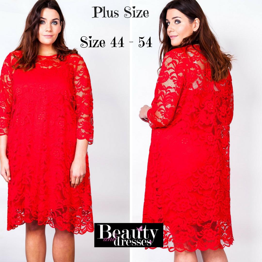 Plus size kjoler | Smukke kjoler i store størrelser fra