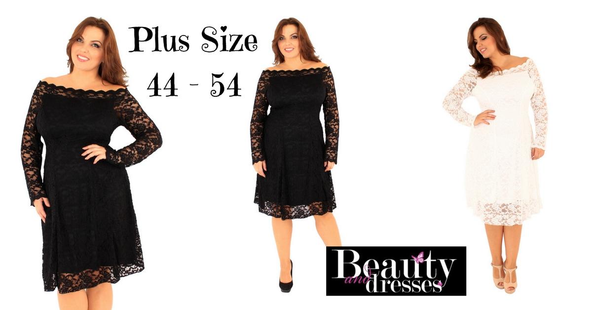Køb smarte kjoler i stor størrelse online HER | Plus size kjoler