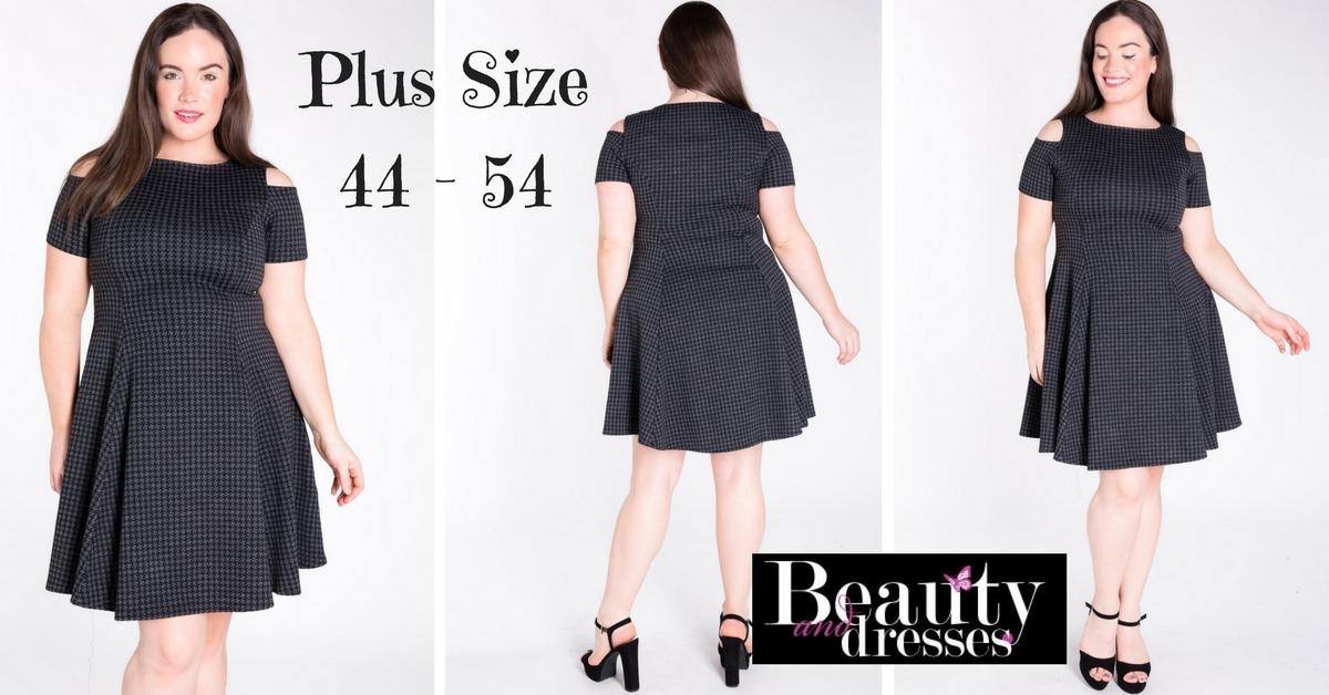 Flotte kjoler i plus size og til under 400 kr.