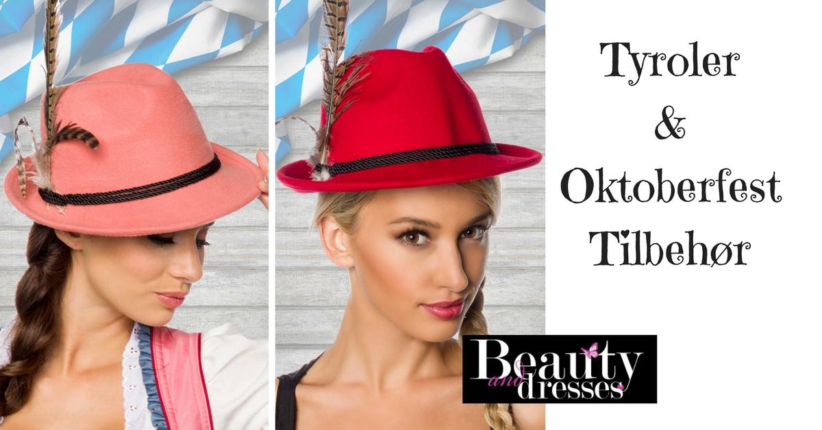 Tyroler hatte og tilbehør til kvinder
