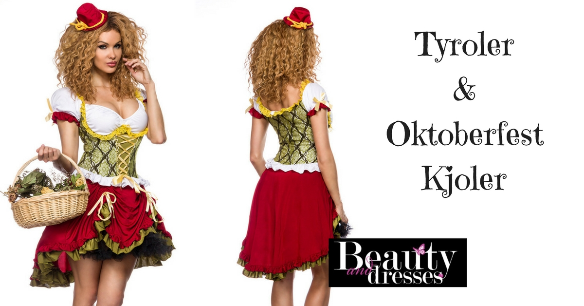 Anderledes Tyrolerkjole i feminint design | Køb online HER