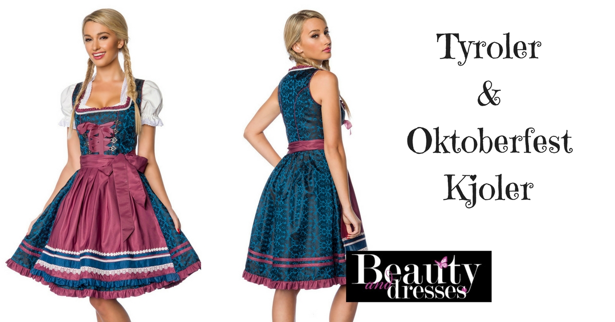 Køb din Oktoberfest og tyrolerfest kjole online HER