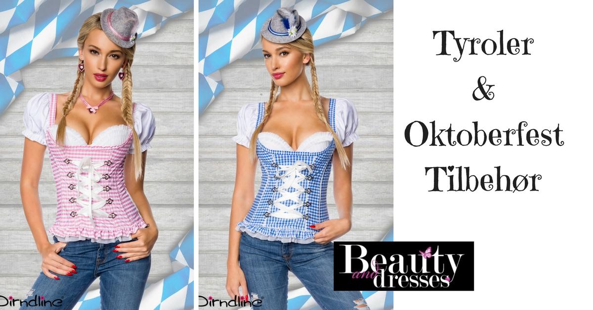 Tyroler corset i høj kvalitet og feminint design | Køb HER