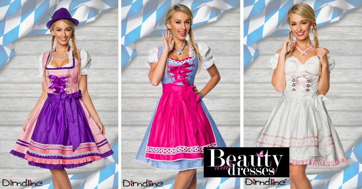 Smukke Oktoberfest og Tyrolerkjoler i flotte design | Køb Oktober kostume her