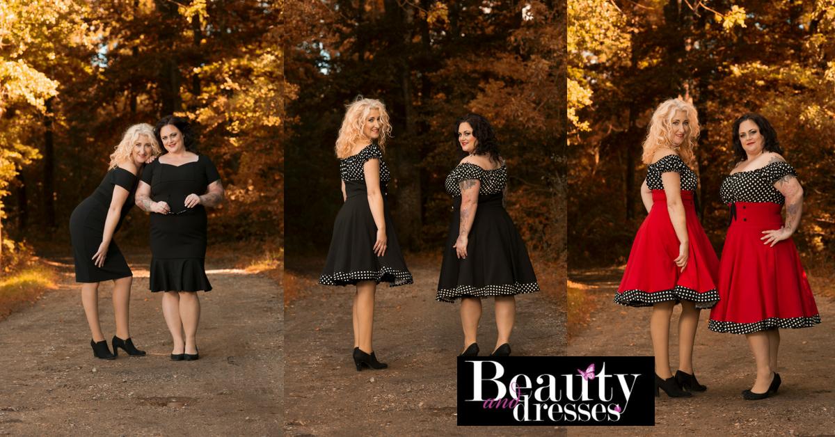 Retro og vintage kjoler