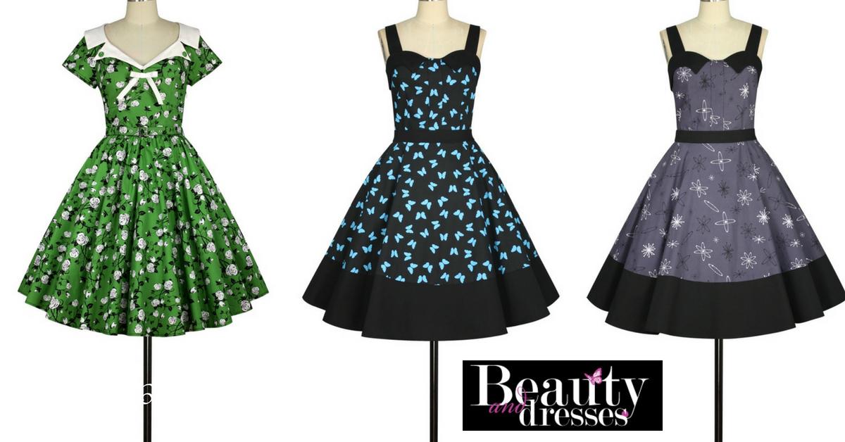 Flotte Rockabilly kjoler