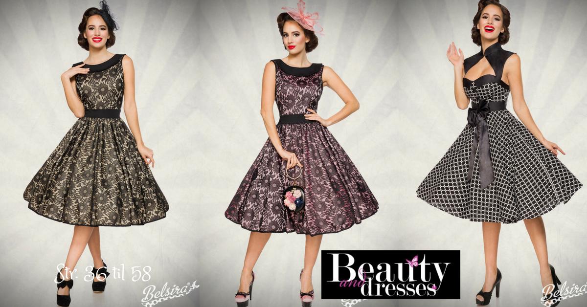 Vintage kjoler med flotte blonder