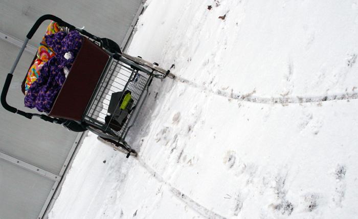 Amager Holmbladsgade barnevogn