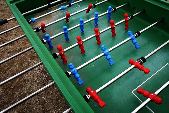 Fodboldbord Rødegårdparken Amager amarOrama