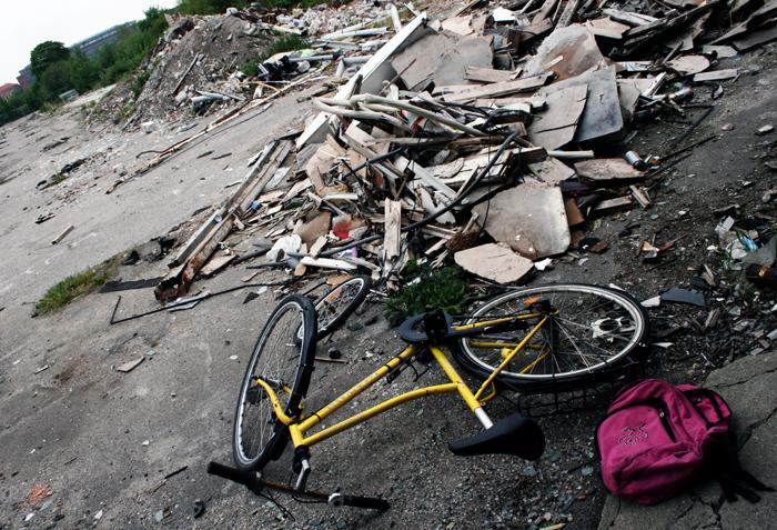 Cykel Njalsgade Amager amarOrama