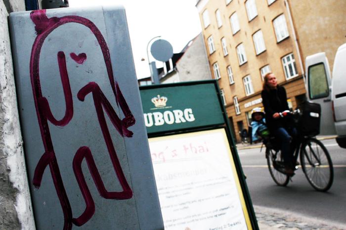 Elefant Øresundsvej cyklist Amager amarOrama