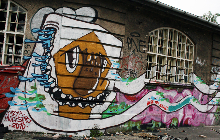 Graffiti Njalsgade Amager amarOrama