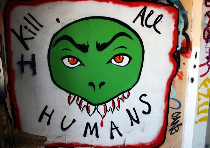 Kill all humans Tovelillevej Krimsvej Amager amarOrama