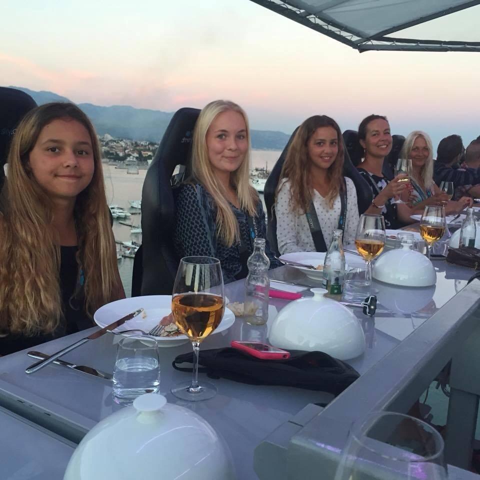 Dinner in the sky Kroatien