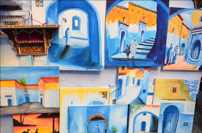 Malerier i Marokko